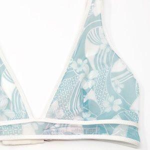 Victoria's Secret Intimates & Sleepwear - NWT Victoria's Secret Floral Mesh Plunge Bralette✨